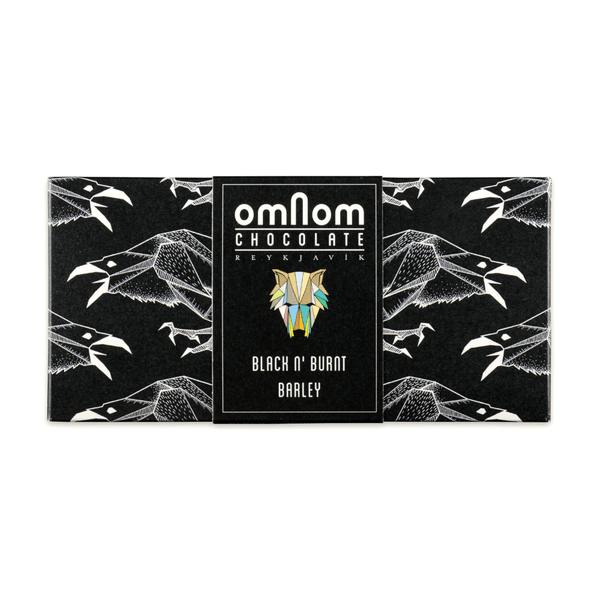 Omnom Black n' Burnt Barley 2.1oz. bar