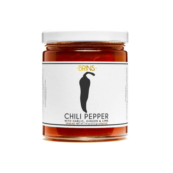 BRINS Chili Pepper Jame 7.5oz. jar