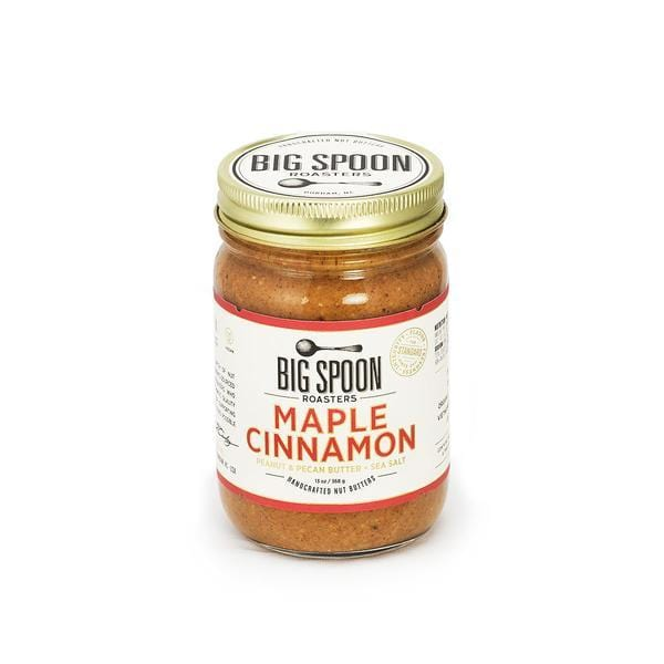 Big Spoon Roasters Maple Cinnamon Pecan & Pecan Butter + Sea Salt 13oz. jar