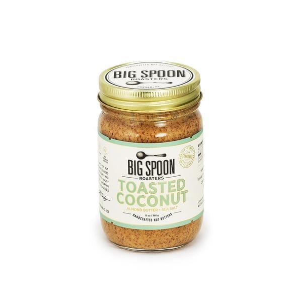 Big Spoon Roasters Toasted Coconut Almond Butter Sea Salt 13oz. jar