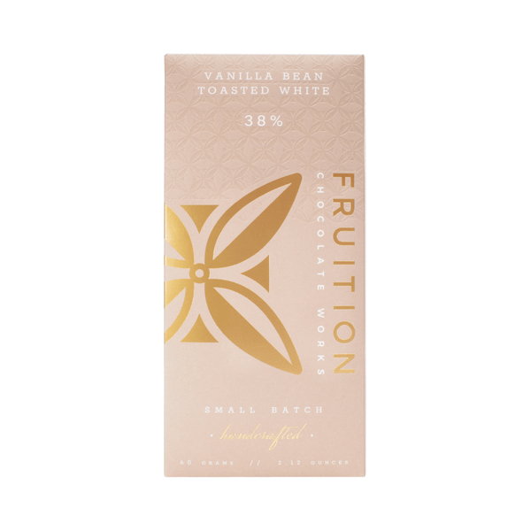 Fruition Chocolate Works Vanilla Bean Toasted White Chocolate 2.12oz. bar