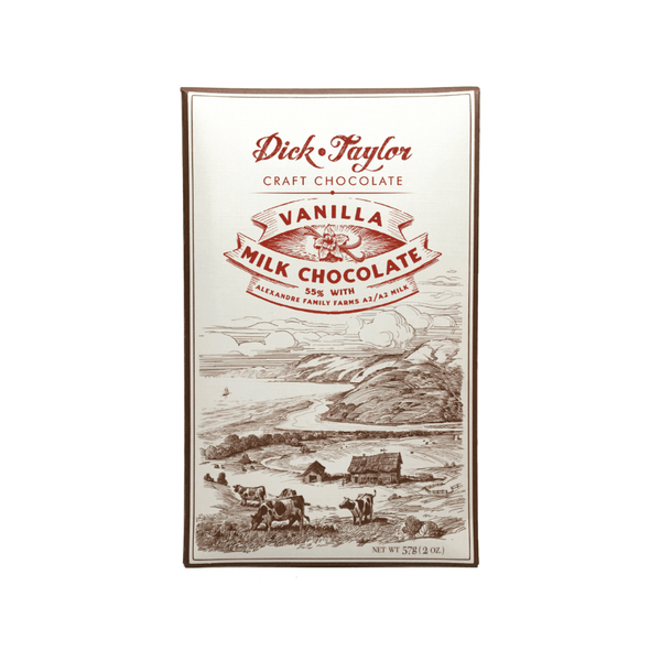 Dick Taylor Vanilla Milk Chocolate 2oz. bar