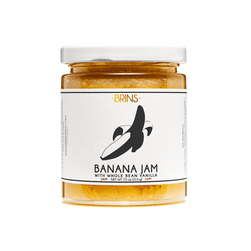 BRINS Banana Jam 7.5oz. jar