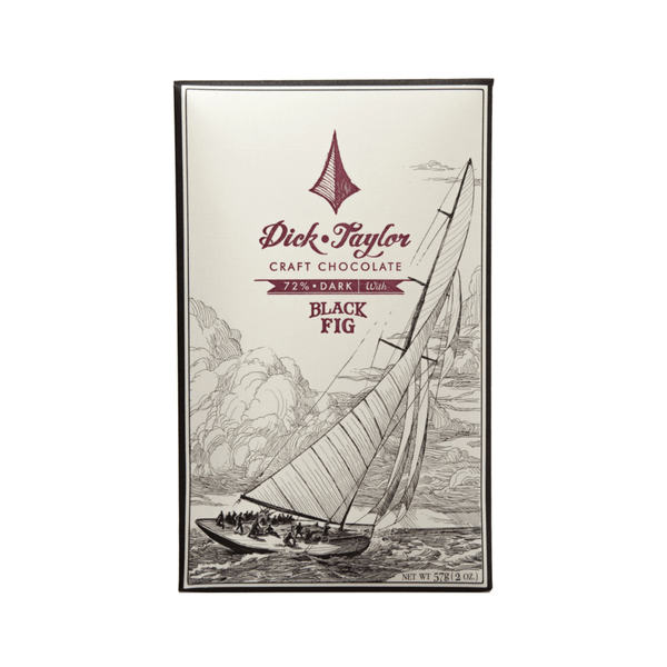Dick Taylor Black Fig 72% Dark Chocolate 2oz. bar