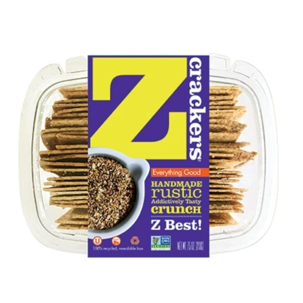 Z Crackers Everything Crackers 7.5oz. box