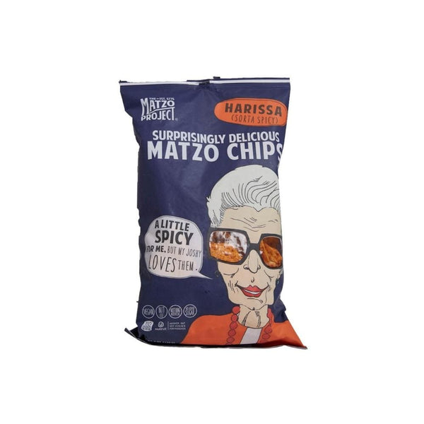 Matzo Project Salted Matzo Chips 6oz. bag