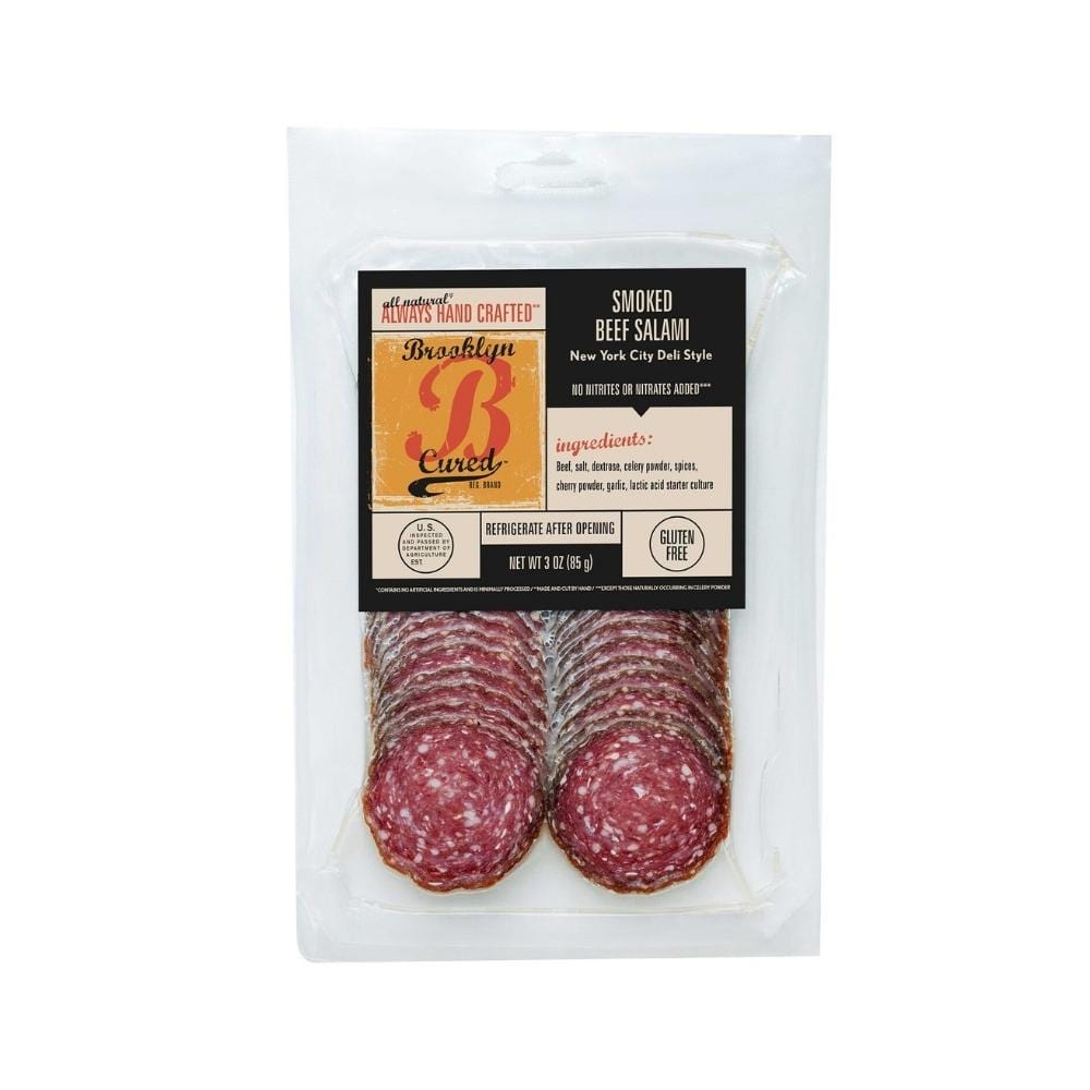 Brooklyn Cured Smoked Beef Salami 3oz.
