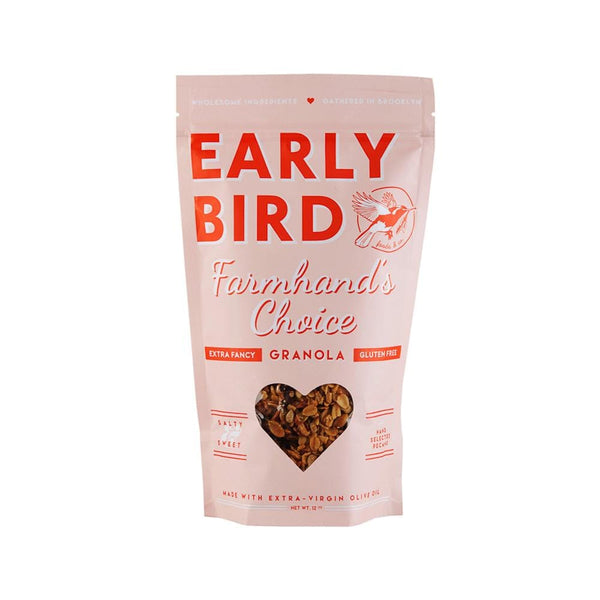 Early Bird Farmhand's Choice Granola 12oz. bag