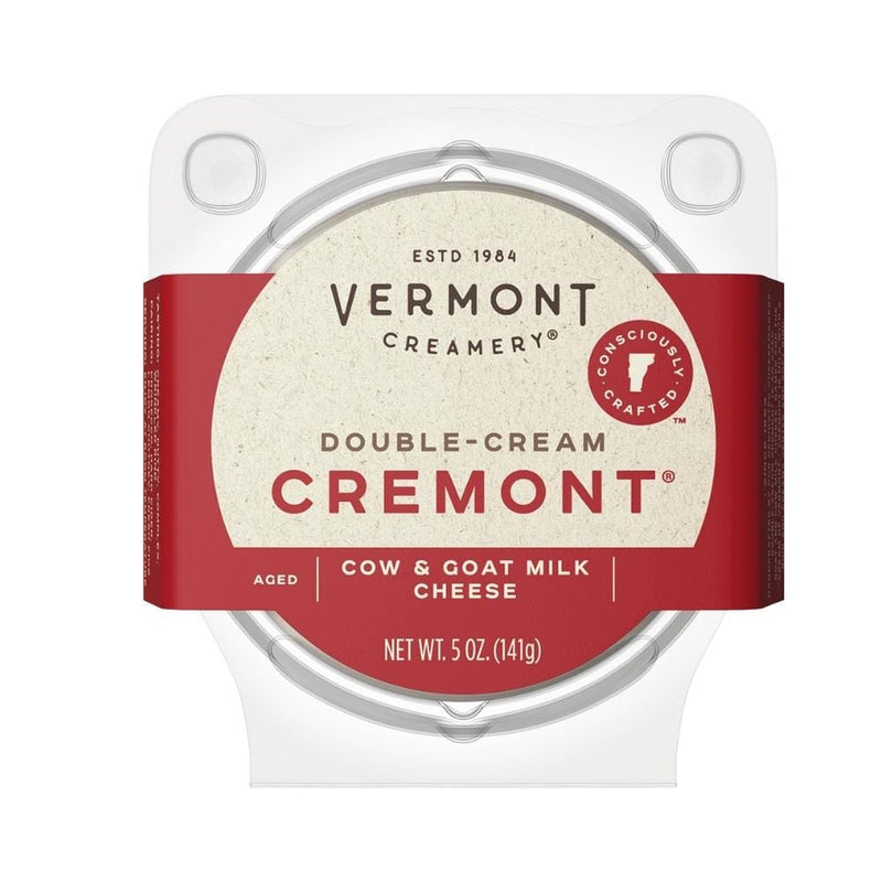 Vermont Creamery Double-Cream Cremont 5oz.
