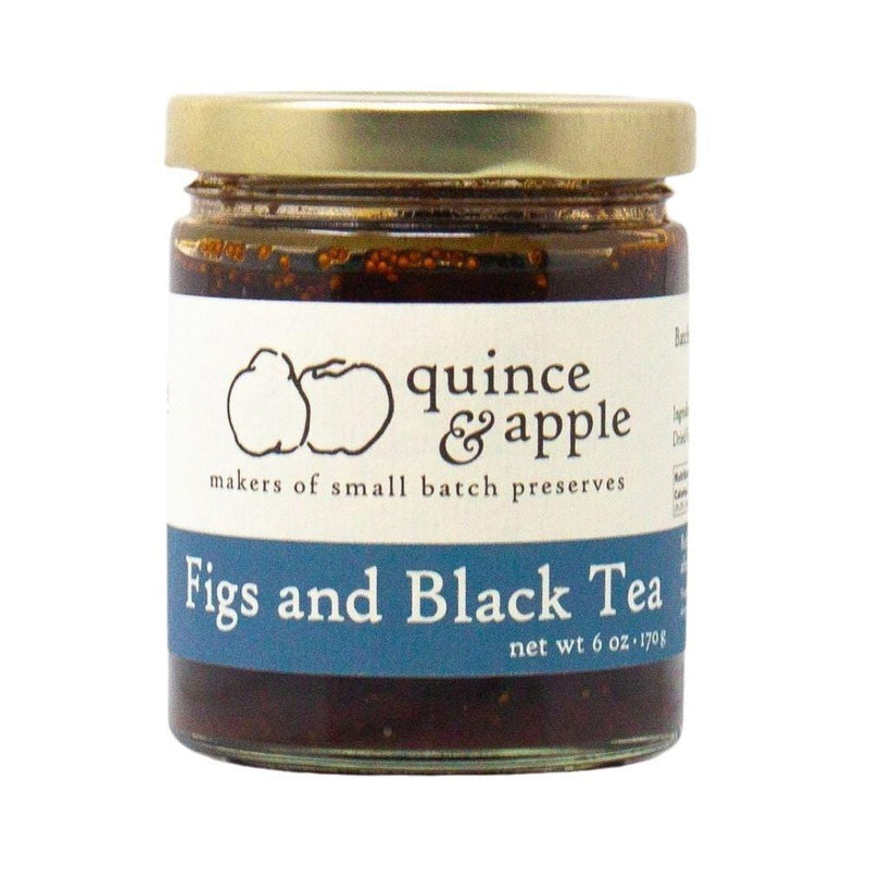 Quince & Apple Figs and Black Tea Preserves 6oz. bar