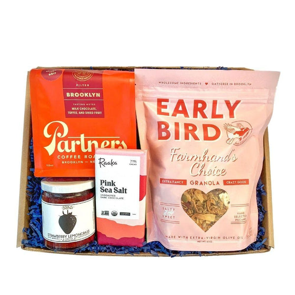 easy like Christmas morning gift basket