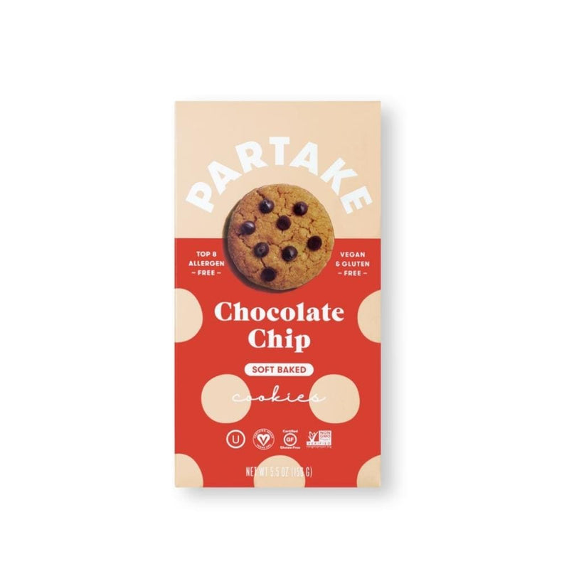 Partake Chocolate Chip Cookies