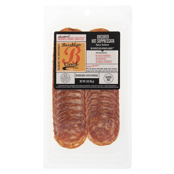 Sliced Hot Soppressata