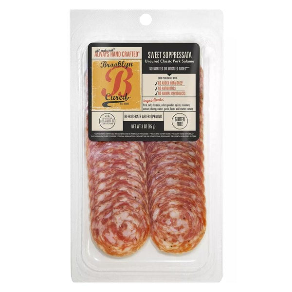Sliced Sweet Soppressata
