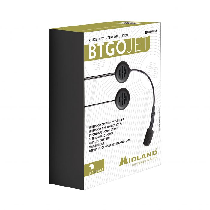 Midland BTGO Jet Plug & Play Intercom