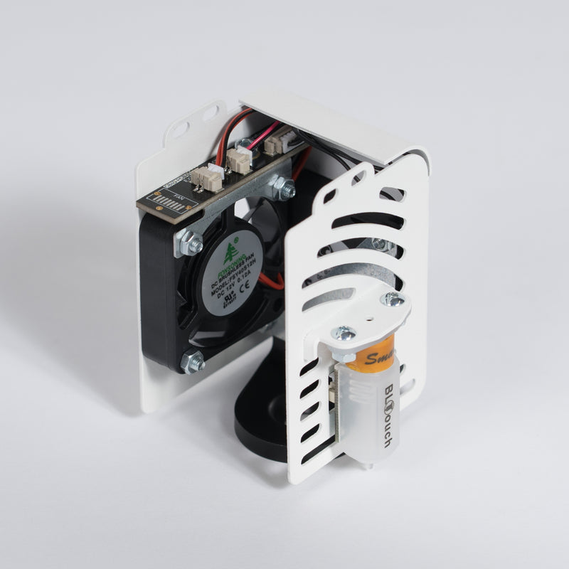 Craftbot Flow Generation Extruder fan with BL touch - White