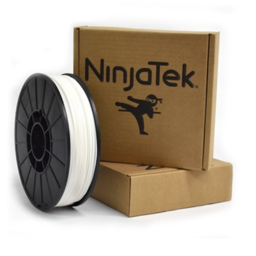 NinjaFlex Filament - 1.75mm - 0.5 kg - Snow White
