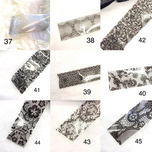 Nail Art Foil 100pcs - CLEARANCE