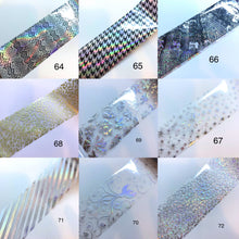 Load image into Gallery viewer, Nail Art Foil #46 - #99