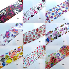 Load image into Gallery viewer, Nail Art Foil 100pcs - CLEARANCE