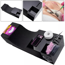 Load image into Gallery viewer, Acrylic Caddy With Storage for Eyelash Extension Pillow