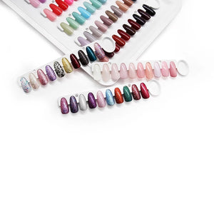Nail Colour Swatch Book 120 tips