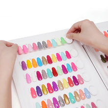 Load image into Gallery viewer, Nail Colour Swatch Book 120 tips