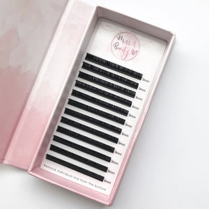 D Curl Lashes 0.10mm for Eyelash Extensions