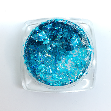 Load image into Gallery viewer, Nail Foil Flakes - Blue