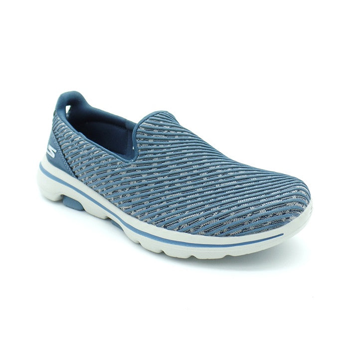 Go Walk 5 Miracle Non Leather Blue