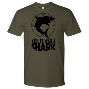 CL - Shark Blackout, Unisex Tshirt