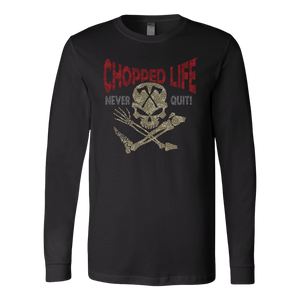 CL - Never Quit, Unisex Long Sleeve Shirt