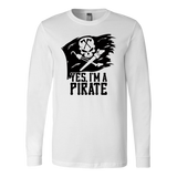 CL - Pirate, Unisex Long Sleeve Shirt