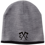 Chopped Life - CL Axes, Beanie, Black Stitch