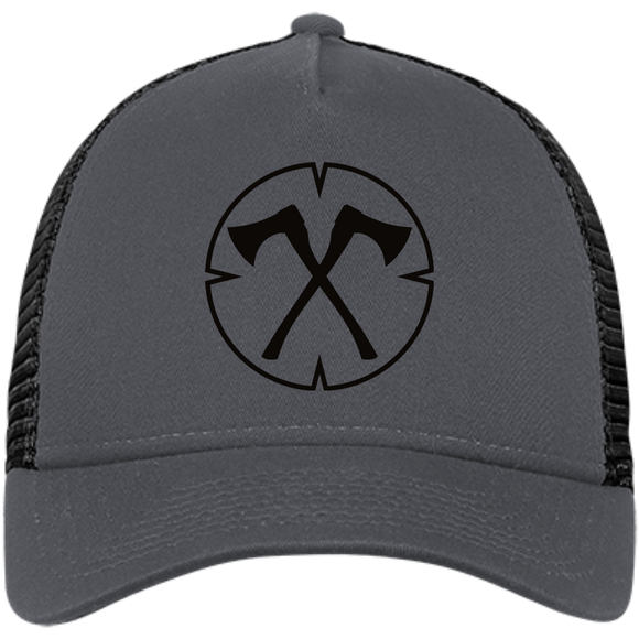 Chopped Life - OG, Snapback Trucker Cap, Gray/Black/Black