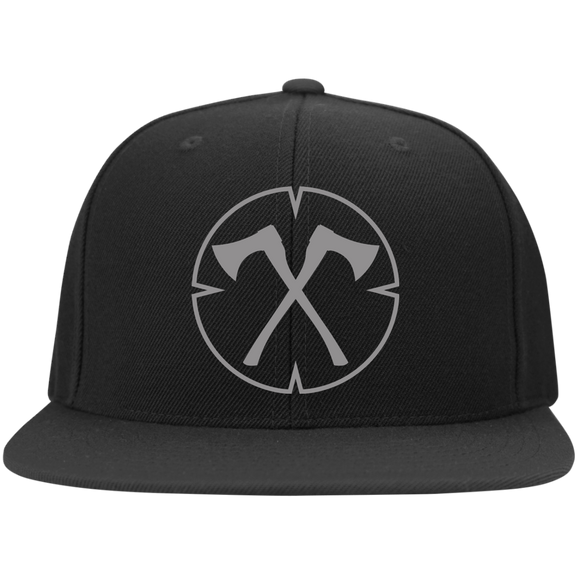Chopped Life - OG, Flat Bill Flexfit Hat, Black/Gray