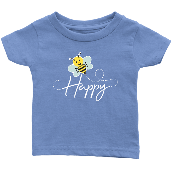ADH - Bee Happy, Infant Tshirt