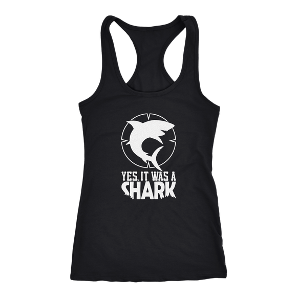 CL - Shark, Ladies Racerback Tank