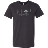 ADH - Camping Alive Gray, Unisex Tshirt