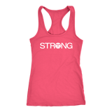 CL - Strong, Ladies Racerback Tank