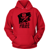 CL - Pirate, Unisex Hoodie