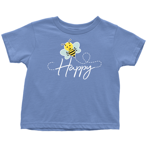 ADH - Bee Happy, Toddler Tshirt