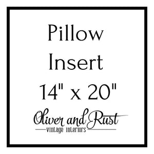 Pillow Insert 14 X 20