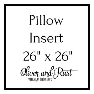 Pillow Insert 26 X 26