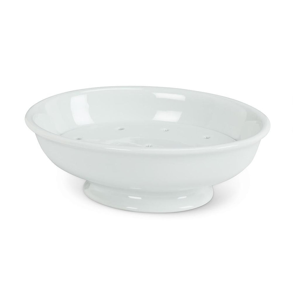 Soap Dish with Strainer.