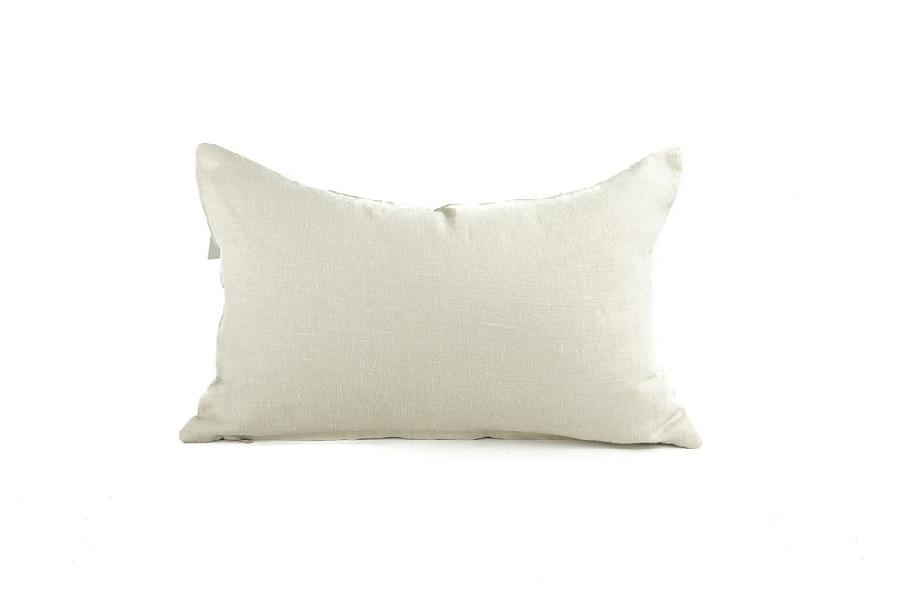Load image into Gallery viewer, Oyster Linen 16 x 24 Pillow