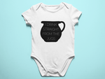 I Drink Straight From the Jugs Baby Romper