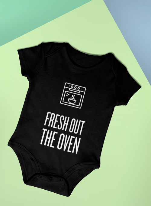 Fresh Out the Oven Baby Romper