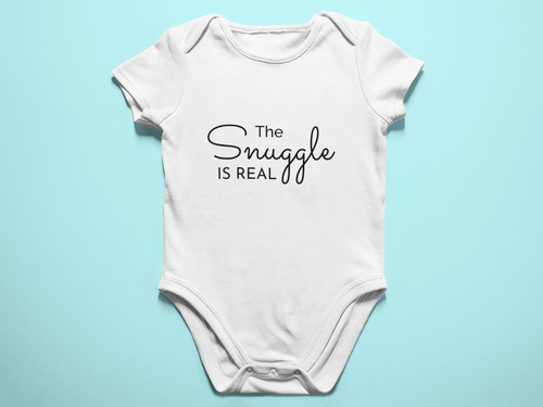 The Snuggle is Real Baby Romper