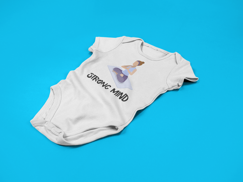 Strong Mind Baby Romper